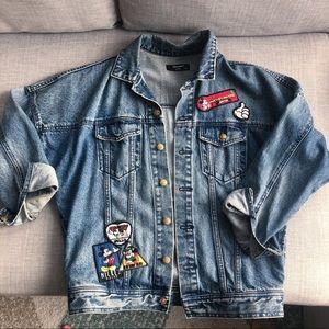 Moussy & Disney jean jacket